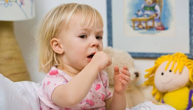 Bebeklerde öksürük ve balgam.